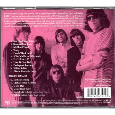Jefferson Airplane Surrealistic Pillow by Surrealistic Pillow By Jefferson Airplane Cd With Mjlam