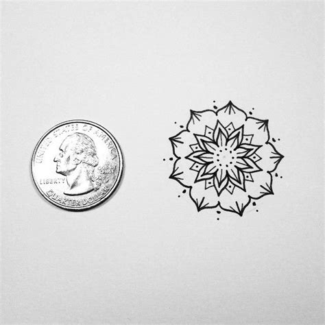 small mandala tattoos mini mandala also if anyone would like a small