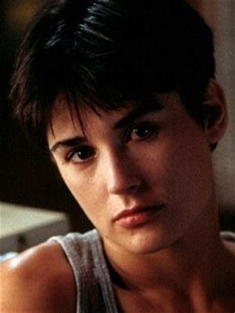 demi moore haircut in ghost the movie demi moore s ghost bob when patrick s swayze s character