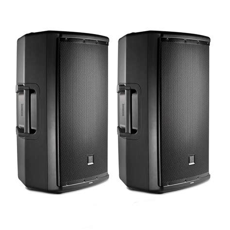 Speaker Jbl 1000 Watt jbl eon615 1000 watt powered 15 2 way dj pa speakers pair pro audio land
