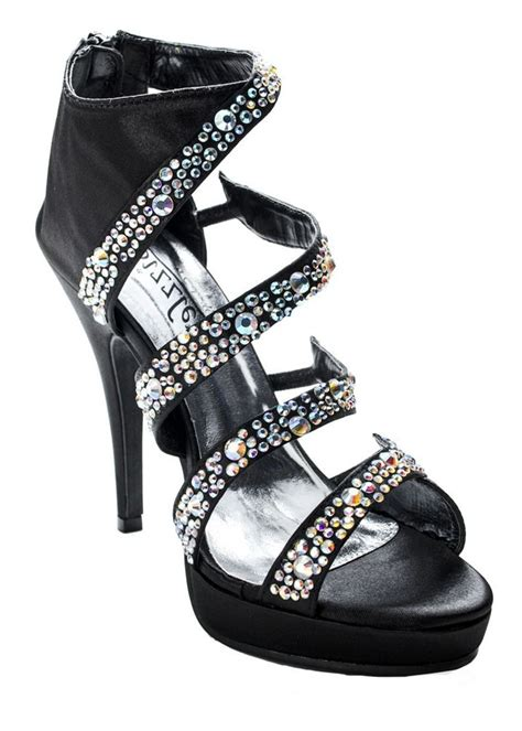 by sizzle black prom shoes birthday