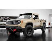 Jeep Revives The Comanche As A Renegade Based Trucklet