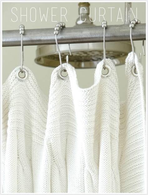 how to make a curtain into a shower curtain shower curtain diys to rev your bathroom