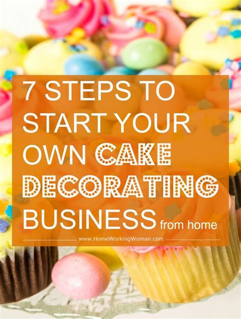 starting a cake decorating business from home 25 best ideas about cake business on pinterest cake