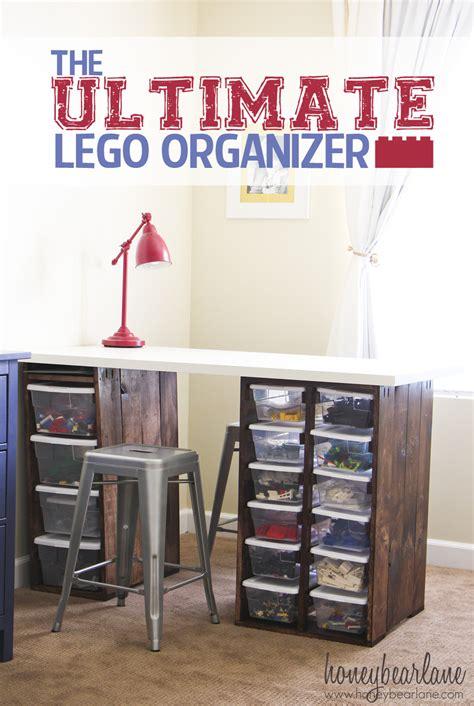The Ultimate Lego Organizer Honeybear Lane Lego Desk Organizer