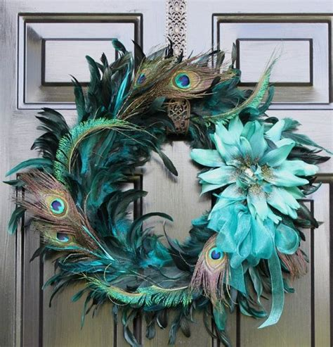 decorative feathers peacock inspired home decor tips 19 best images about peacock home ideas on pinterest