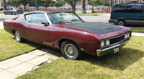 rare muscle cars rare 1969 ford talladega torino 428 cobra jet muscle car