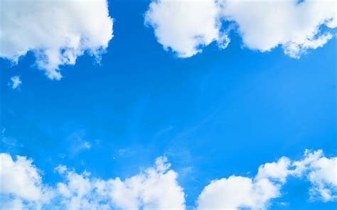imagenes nubes blancas descargar fondos de pantalla cielo azul nubes blancas