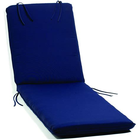 navy blue chaise lounge oxford garden classic patio chaise lounge cushion canvas