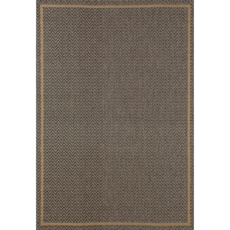 rugs plymouth carpet plymouth grooveyard gray 6 ft 7 in x 9 ft 2 in indoor outdoor area rug 29885