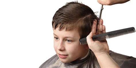 how to cut boys and kids hair at home how to cut boys hair layering blending guides