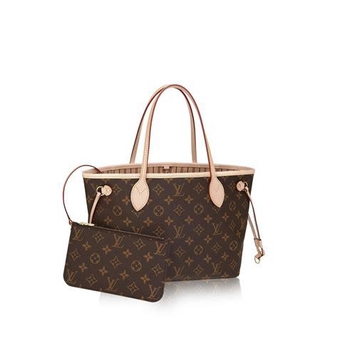neverfull pm monogram canvas handbags louis vuitton