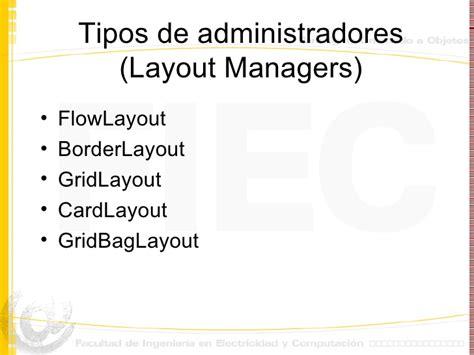 layout manager gridbaglayout entorno grafico en java