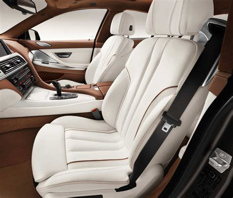Bmw Opal White Interior by The New Bmw 6 Series Gran Coupe Interior Lightweight Seats Bmw Individual Leather Trim