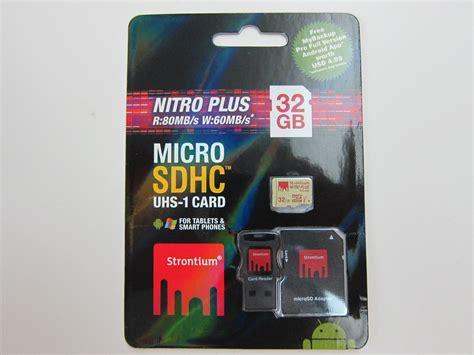 strontium nitro plus microsdhc uhs 1 card 171
