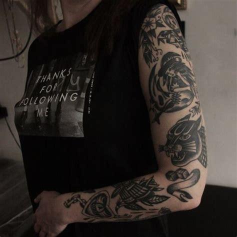 black and grey tattoos old school old school traditional tattoo tattoos pinterest