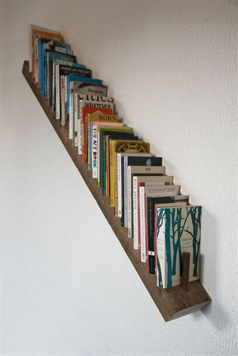 novel shelf by amilewithouttown on etsy escalier