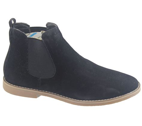 office chelsea boots mens mens chelsea boots faux suede office casual dress desert