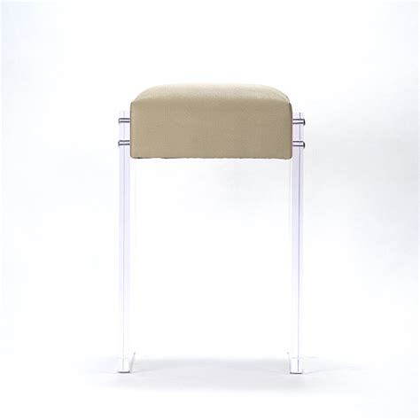 zentique acrylic counter stool