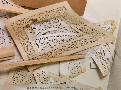 wood carving templates stencils used by konstantinos pilarinos as patterns for