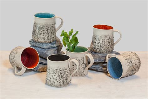 12 handmade mug set large coffee mug set handmade tea cup