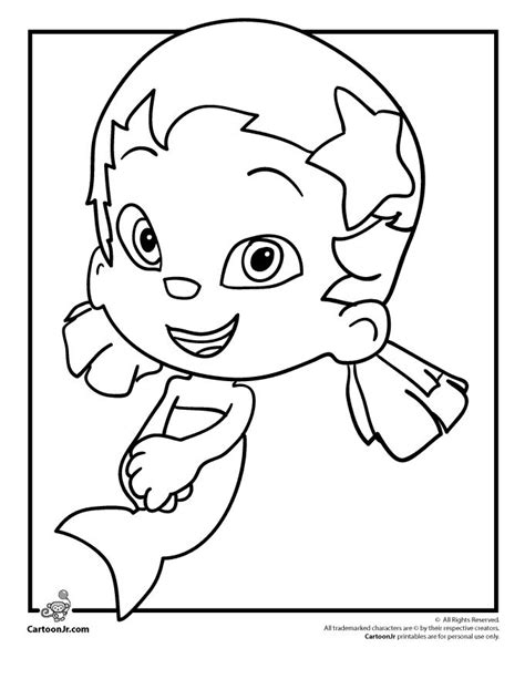 bubble guppies coloring pages nick jr bubble guppies halloween coloring pages coloring pages