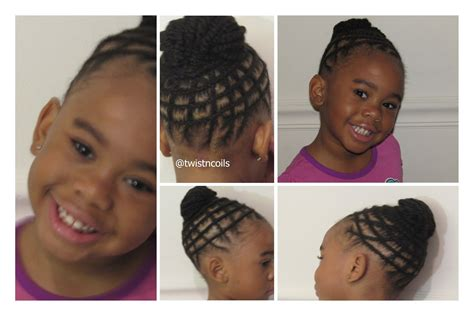 black kids plaited lines styles tnc 19 natural braid hairstyle for kids youtube