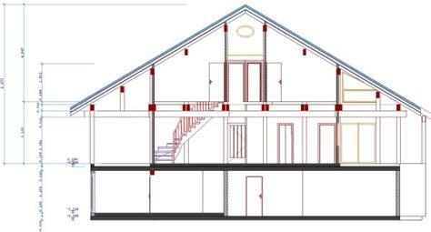 Plan De Coupe De Maison 2196 by Plan De Coupe De Maison Plan Maison En Coupe Plan De