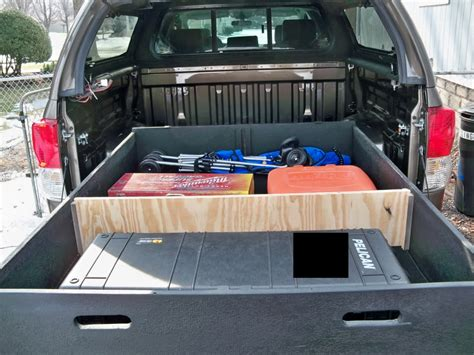 truck bed organizer diy advantages homemade truck bed storage modern storage