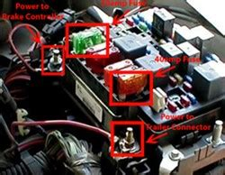 troubleshooting brake controller   gmc sierra