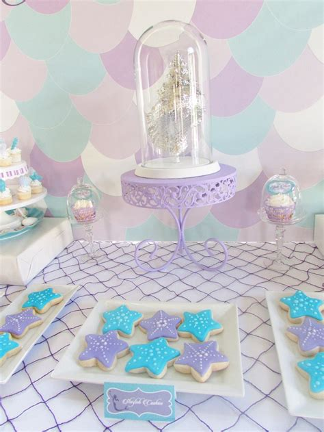 kara s ideas modern mermaid themed baby shower
