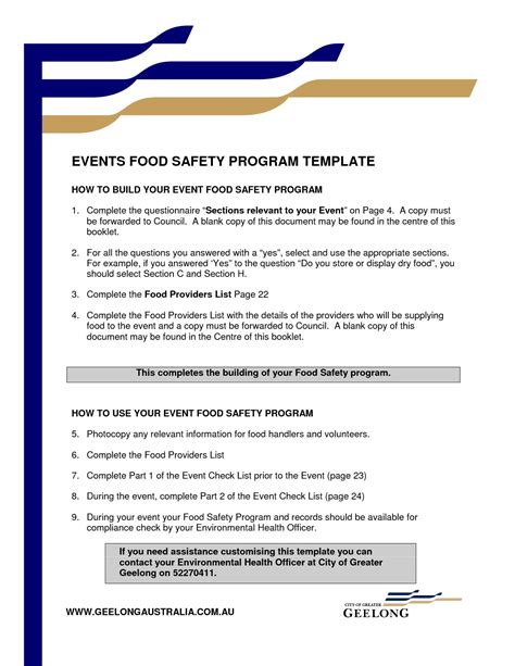 Event Program Template Cyberuse Program Template