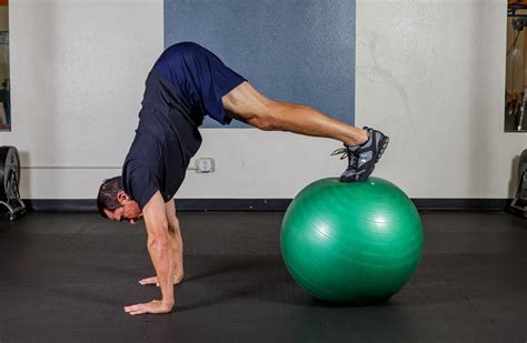 pike strength ball exercise  sports peformance  sean