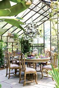 Orangery conservatory greenhouse dining entertaining home design love