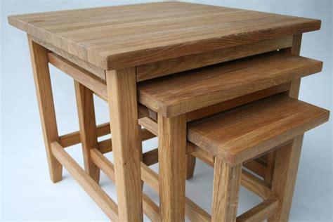 Nest Of Coffee Tables Oak Oak Coffee Table Solid Oak Coffee Tables Nest Of Tables