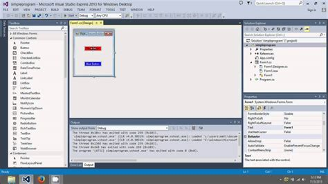 tutorial visual studio 2013 c beginners tutorial simple program using visual studio