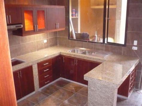 encimeras de granito como elegir la encimera perfecta  tu cocina cocinas pequenas