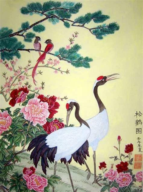 crane painting crane painting crane 2367033 53cm x 81cm 21 x 32