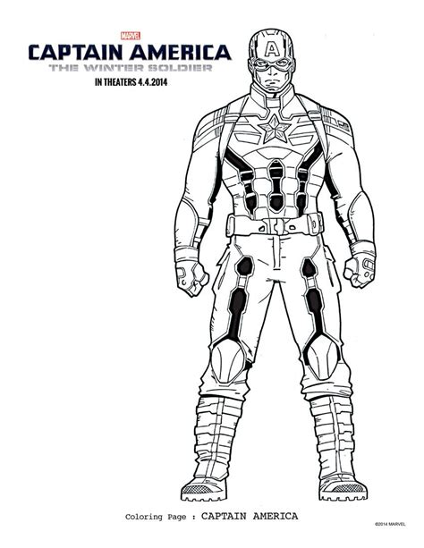 winter soldier coloring page captain america the winter soldier coloring pages more