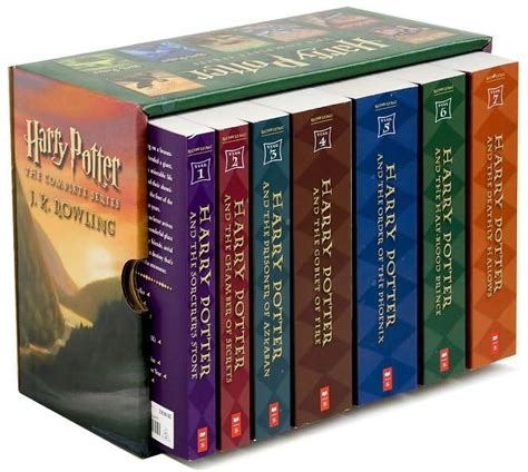The Book Of Set harry potter box set en pasta suave libros 1 7 1 739 00 en mercado libre