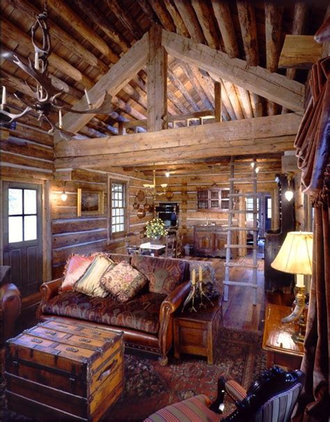small log home interiors best 25 cabin interiors ideas on log cabin