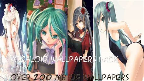download wallpaper anime hd pack hd wallpapers vocaloid wallpapers pack over 200 by