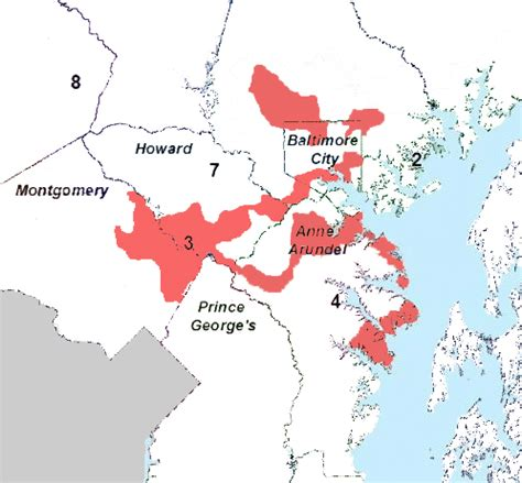 maryland gerrymandering map redistricting design is not a simple matter
