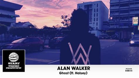alan walker official website alan walker ghost ft halsey video youtube