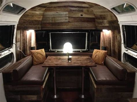 Retro Campers For Sale custom interior dinette detail airstreaming pinterest