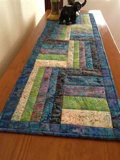 Easy Table Runner Neneng Quilt Projects - batik table runner i d to make one soon