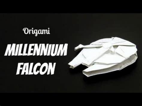 Origami Millennium Falcon - スターウォーズ 宇宙船 折り紙 折り方 trend