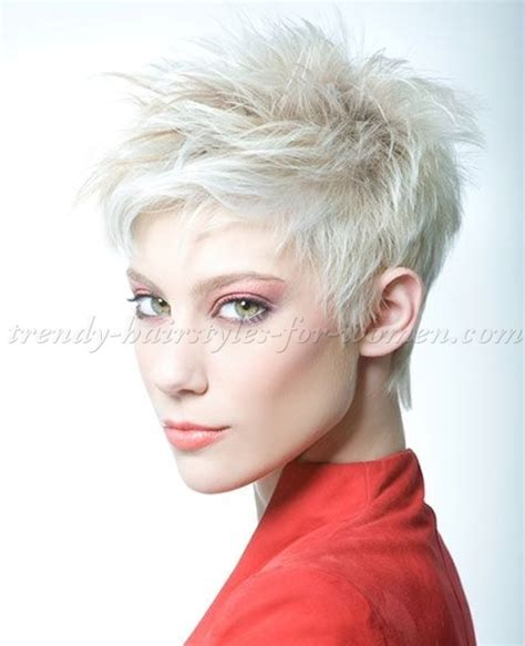 Platinum Hairstyles by Hairstyles Platinum Spiky Hairstyle