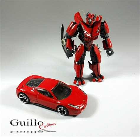 ferrari transformer guillo s customs wheels ferrari italia turned into
