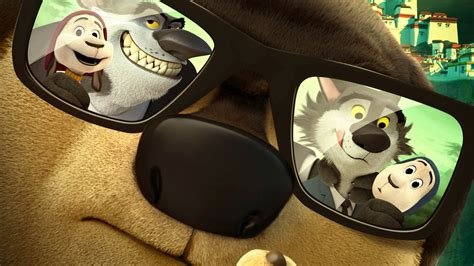 wallpaper rock dog dog glasses  animations   movies
